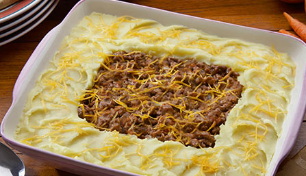 PediaSure® Hamburger Potato Casserole