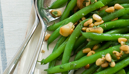 PediaSure® Green Beans with Pine Nuts Recipe