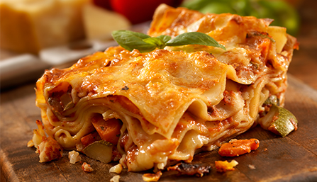 PediaSure® Vegetable Lasagna Recipe