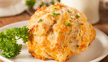 PediaSure® Cheddar Cheese Biscuits Recipe