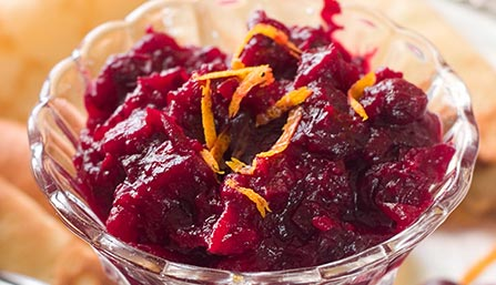 PediaSure® Cranberry Orange Sauce Recipe