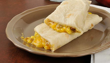 PediaSure® Breakfast Burrito Recipe