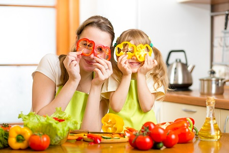 Choose Healthy Food to deal with fussy eating kids