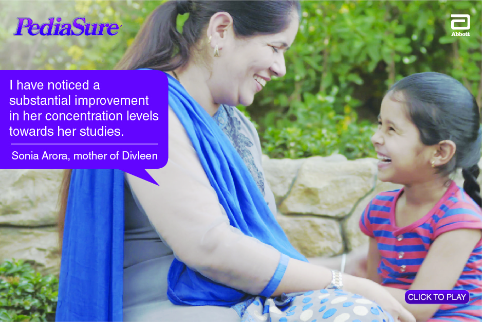 PediaSure Mothers Speak By Sonia