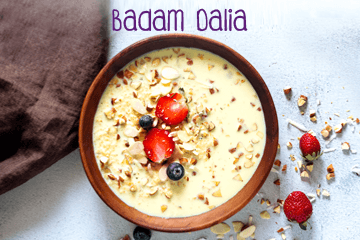 Badam Dalia - Healthy Food Recipes for Kids