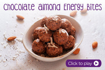 Chocolate Almond Energy Bites With Pediasure Chocolate Flavour