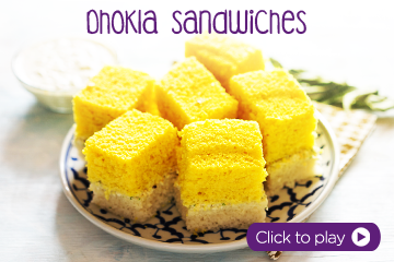 Dhokla Sandwiches With PediaSure Vanilla Recipe