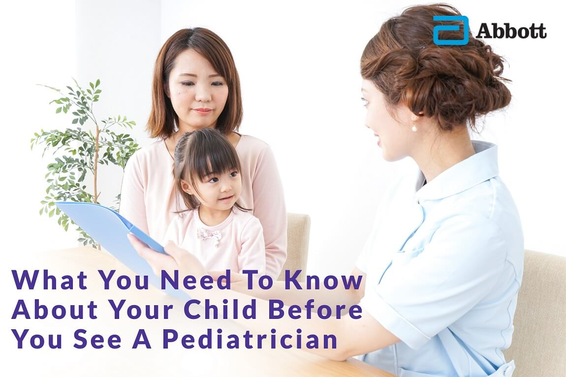 What to Know About Your Child Before Seeing a Pediatrician | Pediasure Malaysia