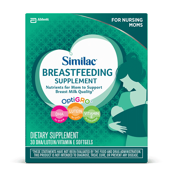 Similac Breastfeeding Supplements For Mom Similac