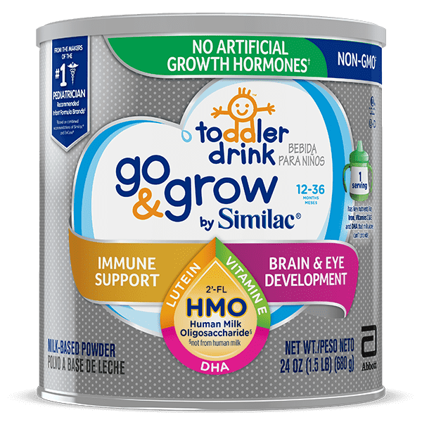 Go & Grow by Similac NON-GMO with 2'FL HMO Toddler Drink