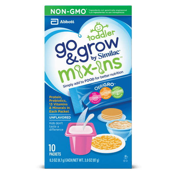 Go & Grow by Similac Mix-Ins for food 10-count pack