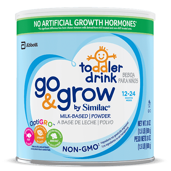 Go & Grow by Similac Non-GMO Toddler Drink 1.5 lb