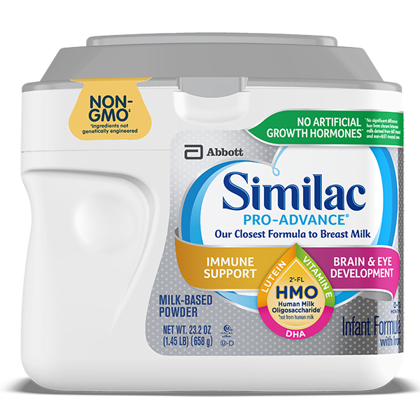 Similac Pro-Advance™ Milk-Based Infant Formula Container