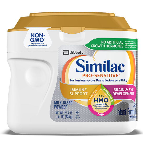 Similac Pro-Sensitive™ Milk-Based Infant Formula Container