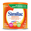 Similac Sensitive Stage 1 12oz formula with Iron for infants
