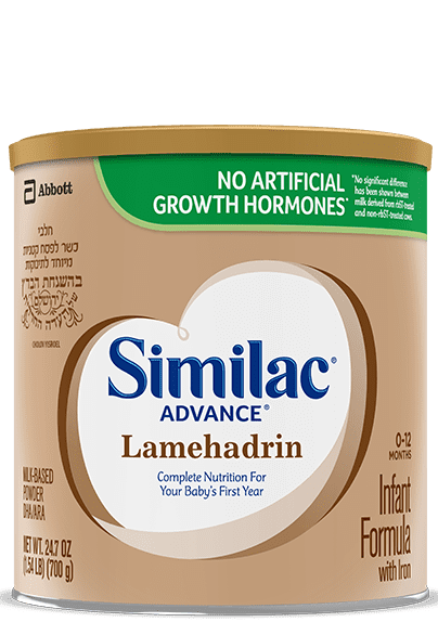 Similac® Advance Lamehadrin Kosher Infant Formula