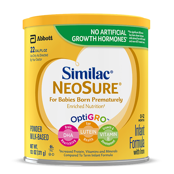 Similac Neosure Formula For Premature Babies Milk Based Powder
