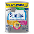 Similac Pro Advance Formula Powder Can