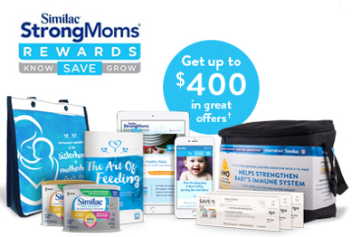 Similac® StrongMoms® - Get Baby Coupons & Free Formula Samples
