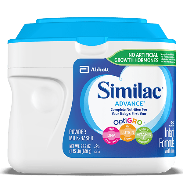 Similac Advance stage 1 powder formula for infants