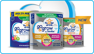 Go & Grow products for 1-2 year-old toddlers