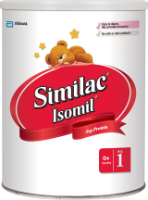 Similac<sup>®</sup> Isomil<sup>®</sup>