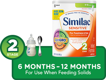 Similac Sensitive® Stage2