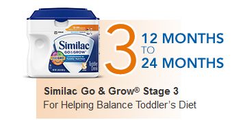 Similac Go & Grow® Stage 3