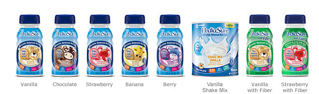 PediaSure® Product Flavors