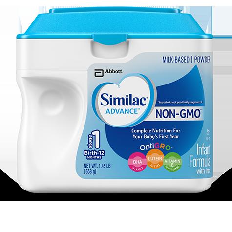 Similac Advance Non Gmo Baby Formula