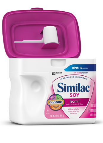SimplePac de Similac® Soy Isomil®