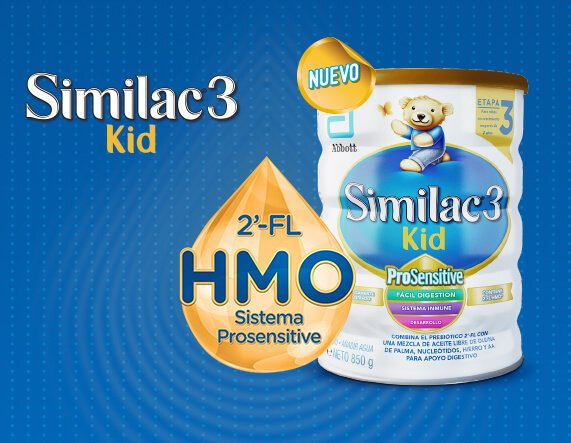 Lata Similac 3 Kid