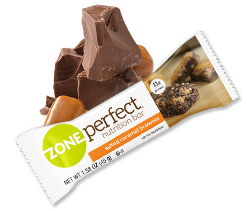 Salted Caramel Brownie Nutrition Bar Zoneperfect