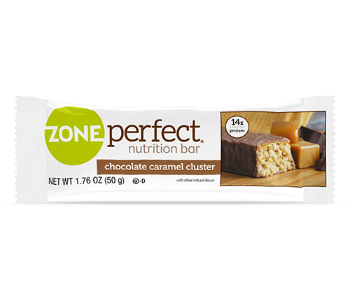 ZonePerfect chocolate caramel cluster
