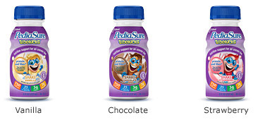 PediaSure SideKicks® Product Flavors