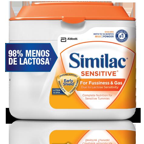 Similac Sensitive Baby Formula For Lactose Intolerance