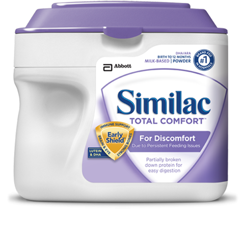 Similac Total Comfort: For discomfort due to persistent ...