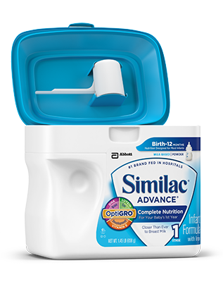 SimplePac de Similac® Advance®