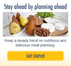 Esté preparado, planifique con anticipación: Mantenga una mano firme en la planificación nutritiva y deliciosa de las comidas