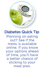 Consejo rápido sobre la diabetes
