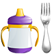 Sippy Cup and Fork